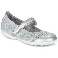 Schuhe Mädchen Ballerinas Geox JR JODIE silbern
