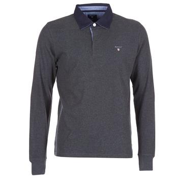 Kleidung Herren Langärmelige Polohemden Gant THE ORIGINAL HEAVY RUGGER Grau