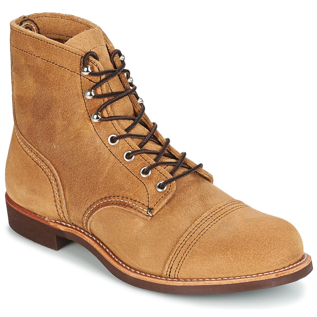 Red Wing IRON RANGER Camel - Kostenloser Versand bei Spartoode ! - Schuhe Boots Herren 319,00 €