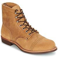 Schuhe Herren Boots Red Wing IRON RANGER Camel