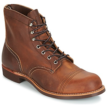 Schuhe Herren Boots Red Wing IRON RANGER Braun