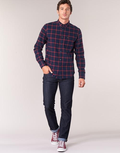 Kleidung Herren Straight Leg Jeans Lee DAREN Blau