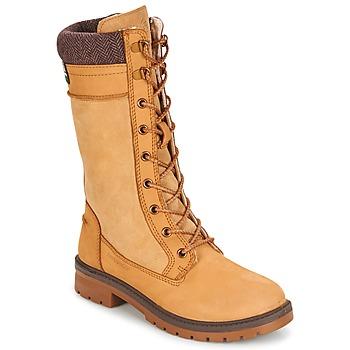 Damen Stiefel Schuhe luxus Overknee 1975 Olive 40