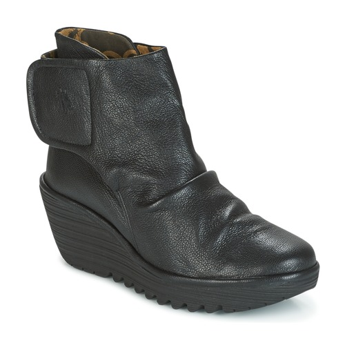 fly london yomi schwarz kostenloser versand bei schuhe low boots damen 94 50. Black Bedroom Furniture Sets. Home Design Ideas