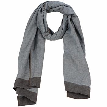 Accessoires Damen Schal Antik Batik ZOE Blau / Braun