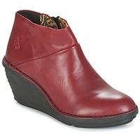 Schuhe Damen Boots Fly London SIPI 671 Rot