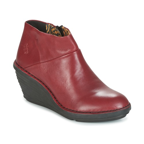 fly london sipi 671 rot kostenloser versand bei schuhe boots damen 83 30. Black Bedroom Furniture Sets. Home Design Ideas