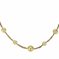 Uhren Damen Collier Antik Batik ASI NECKLACE Silbern