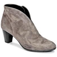 Schuhe Damen Low Boots Ara MORTAD Grau / Silbern