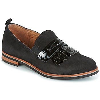 Schuhe Damen Slipper Caprice CILA Schwarz