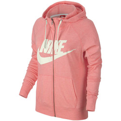 Kleidung Damen Trainingsjacken Nike Gym Vintage Hoodie FZ GX Rose