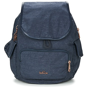 Taschen Damen Rucksäcke Kipling CITY PACK S Blau