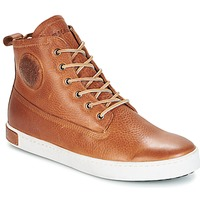 Schuhe Herren Sneaker High Blackstone GM06 Braun
