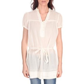 Kleidung Damen Tops / Blusen Vision De Reve Tunique Claire 7090 Ecrue Beige