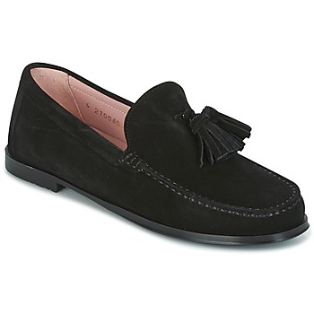 Schuhe Damen Slipper Pretty Ballerinas CROSTINA NEGRO Schwarz