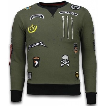 Kleidung Herren Sweatshirts Local Fanatic Exclusief Embriordry Patches Grün