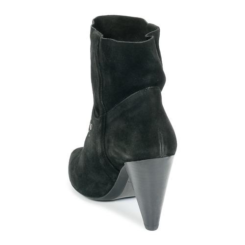 Ikks BOTTINE PAISLEY Schwarz   Schwarz Schuhe Low Boots Damen 112,50 c419a5