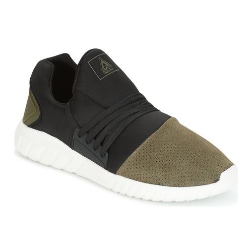 Asfvlt AREA LOW Schwarz / Kaki  Schuhe Sneaker Low Herren 95,20