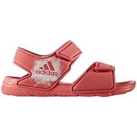 Schuhe Kinder Sandalen / Sandaletten adidas Originals Altaswim C Rosa