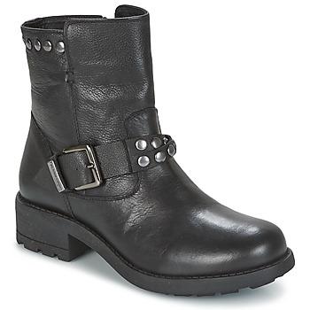 Schuhe Damen Boots Les Tropéziennes par M Belarbi LIAM Schwarz