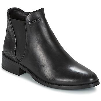 Schuhe Damen Boots Les Tropéziennes par M Belarbi NACRE Schwarz