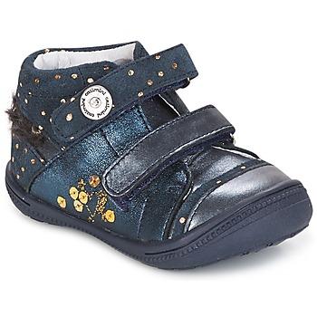 Schuhe Mädchen Boots Catimini ROSSIGNOL Marine