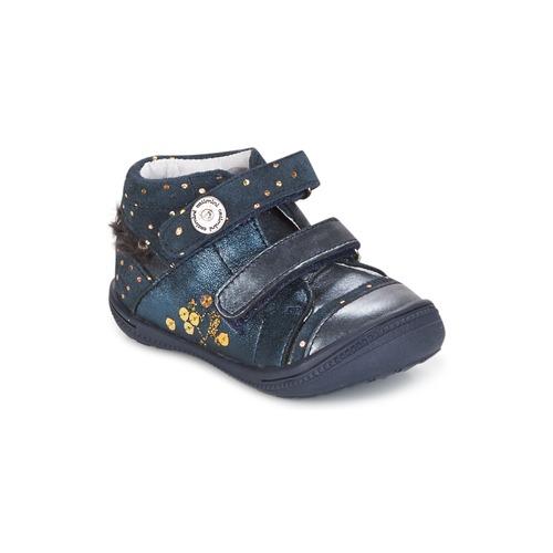 Catimini ROSSIGNOL Marine-gepunkt / Goldfarben / Dpf / 71,19 2822 Schuhe Stiefel Kind 71,19 / 215a8a