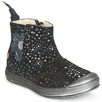 Schuhe Mädchen Boots GBB ROMANE Schwarz