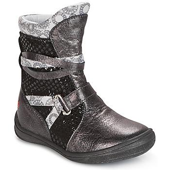 Schuhe Mädchen Boots GBB ROSANA Grau