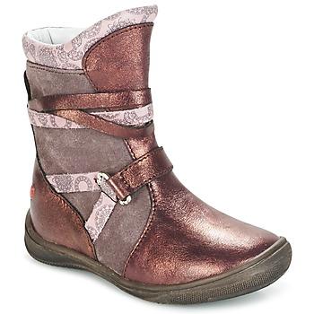 Schuhe Mädchen Boots GBB ROSANA Rose / Bordeaux