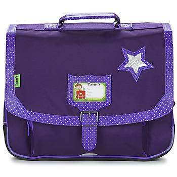 Taschen Mädchen Schultasche Tann's LES CHICS FILLES CARTABLE 38CM Violett