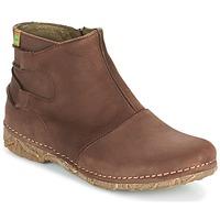 Schuhe Damen Boots El Naturalista ANGKOR Braun