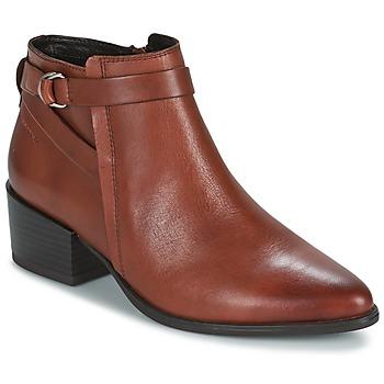 Schuhe Damen Low Boots Vagabond MARJA Braun