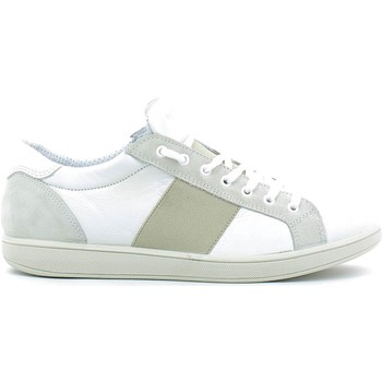 Schuhe Herren Sneaker Low Igi&co 7675 Shoes with laces Man Bianco Bianco