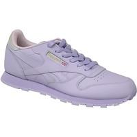 Schuhe Kinder Sneaker Reebok Sport Classic Leather BD5543 Violett