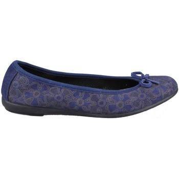 Schuhe Damen Ballerinas Vulladi SERRAJE MANOLETINA FLORES BLUE