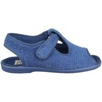 Schuhe Kinder Babyschuhe Vulladi TOALLA AZAFATA ÑAK VELCRO BLUE