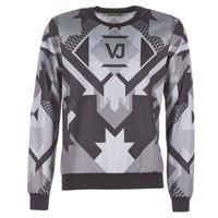 Kleidung Herren Sweatshirts Versace Jeans B7GQA7F5 Schwarz / Grau