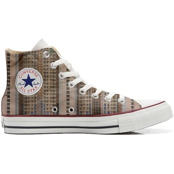 Schuhe Sneaker High Converse All Star Braun-Weiß
