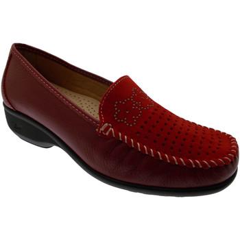 Schuhe Damen Slipper Calzaturificio Loren LOK3971ro rosso