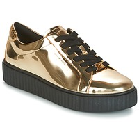 Schuhe Damen Sneaker Low MICHAEL Michael Kors TRAVOR LACE UP Gold
