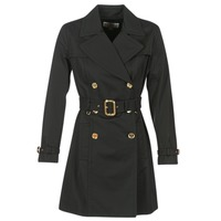 Kleidung Damen Trenchcoats MICHAEL Michael Kors PLEATED TRENCH Schwarz