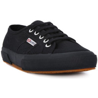 Schuhe Damen Sneaker Low Superga COTU FULL BLACK CLASSIC Nero