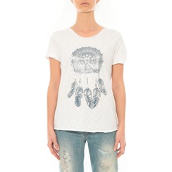 Kleidung Damen T-Shirts By La Vitrine Tee Shirt Blanc Cake V Weiss