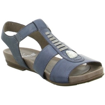 Schuhe Damen Sandalen / Sandaletten Jana Shoes & Co 882810326802 Blau