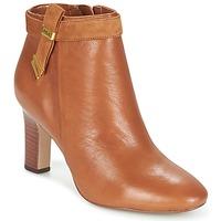 Schuhe Damen Low Boots Ralph Lauren BRIN Cognac