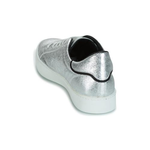 John Galliano Sneaker FIUR Silbern  Schuhe Sneaker Galliano Low Herren 199,20 c7570f