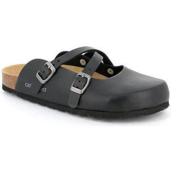 Schuhe Damen Pantoletten / Clogs Grunland DSG-CB0017 NERO