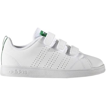 Schuhe Kinder Sneaker Low adidas Originals VS Advantage Clean Cmf C Weiß