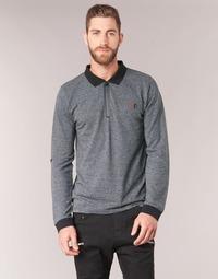 Kleidung Herren Langärmelige Polohemden Yurban HERDEN Grau